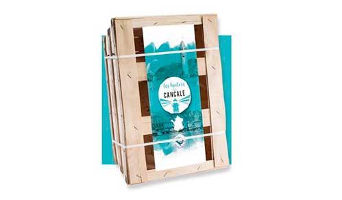 Упаковка для мидий и устриц 12