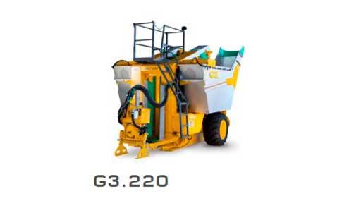 Виноградоуборочный комбайн Модель G 3.220 1