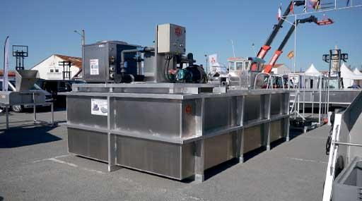 Системы хранения и передержки морепродуктов 12