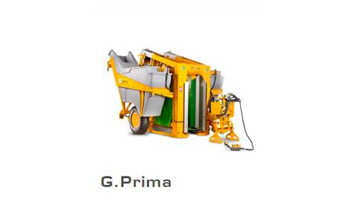 Виноградоуборочный комбайн Модель G. Prima 1