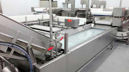 Машина для глазирования мидий и наполнения в коробки 1