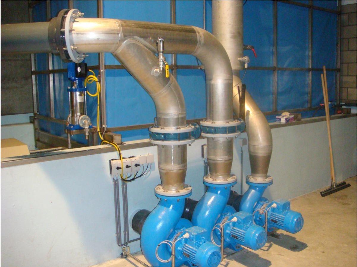 Оборудование для разведения аквакультуры в УЗВ 11