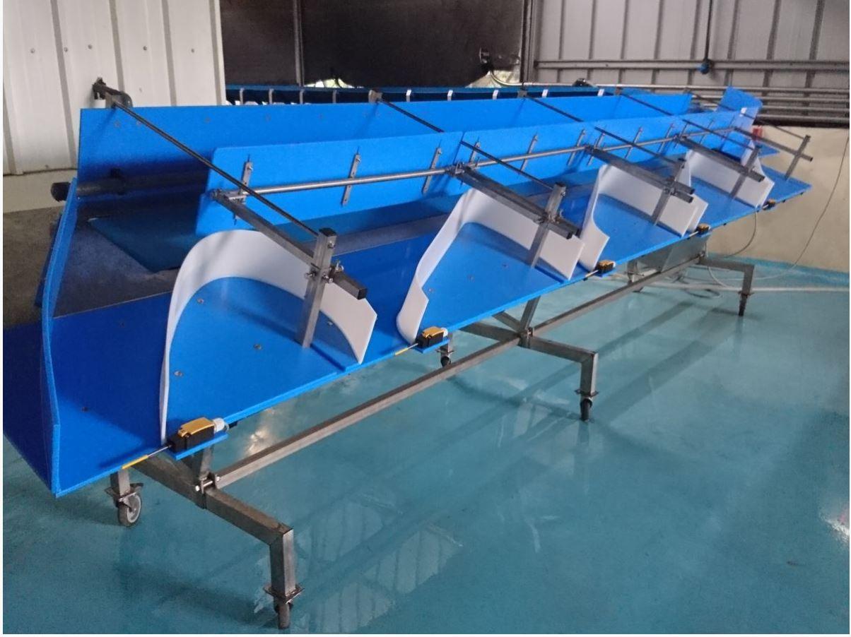 Оборудование для разведения аквакультуры в УЗВ 5